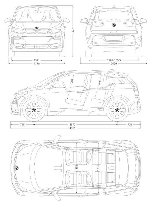 New BMW i3 2020 BEV
