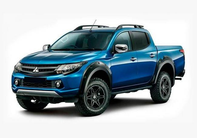 new mitsubishi l200 triton 2021 price photos