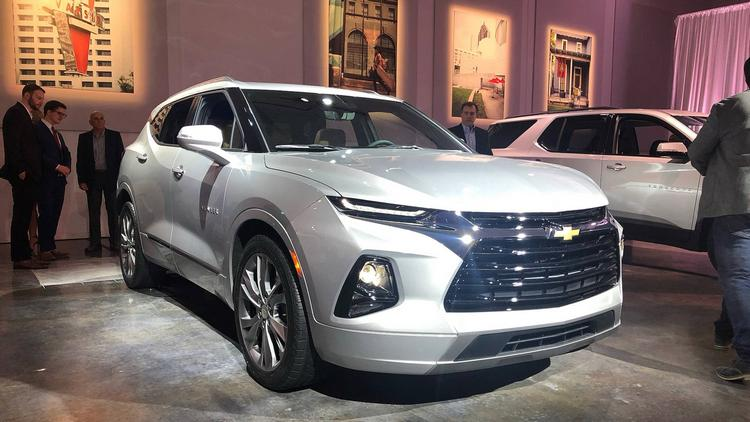 New Chevrolet Blazer 2021