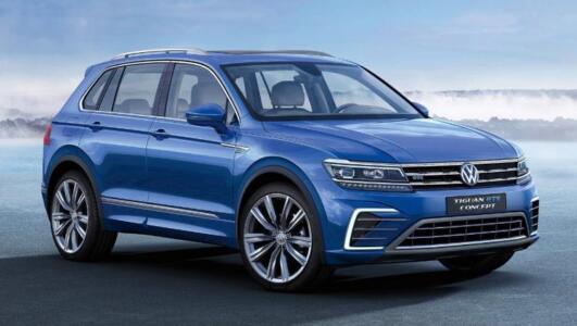 New Volkswagen Tiguan 2021
