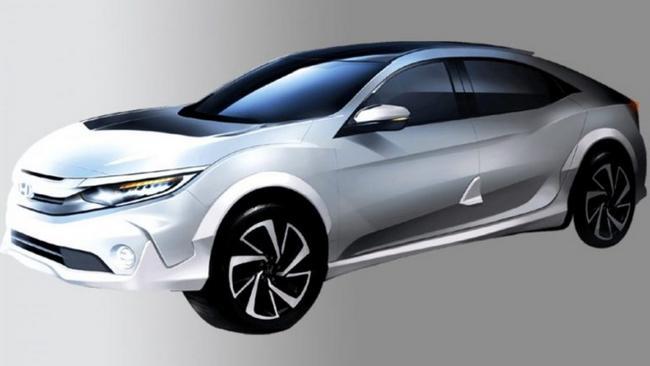 2021 Honda Fcev Exterior