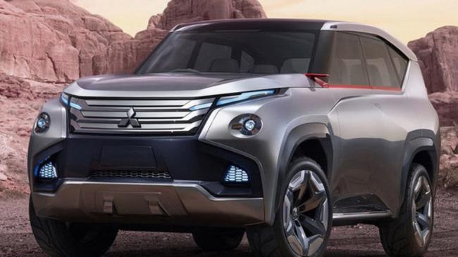 2021 All Mitsubishi Pajero Picture