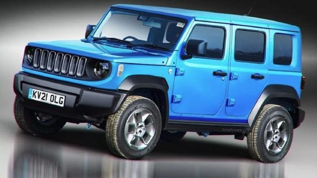 New Suzuki Jimny 5: Price, PHOTOS, Consumption, Technical Data